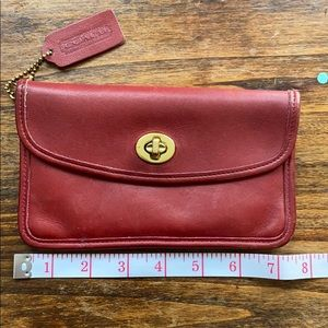 Rare Vintage Coach Turnlock Wallet and Coin Pouch